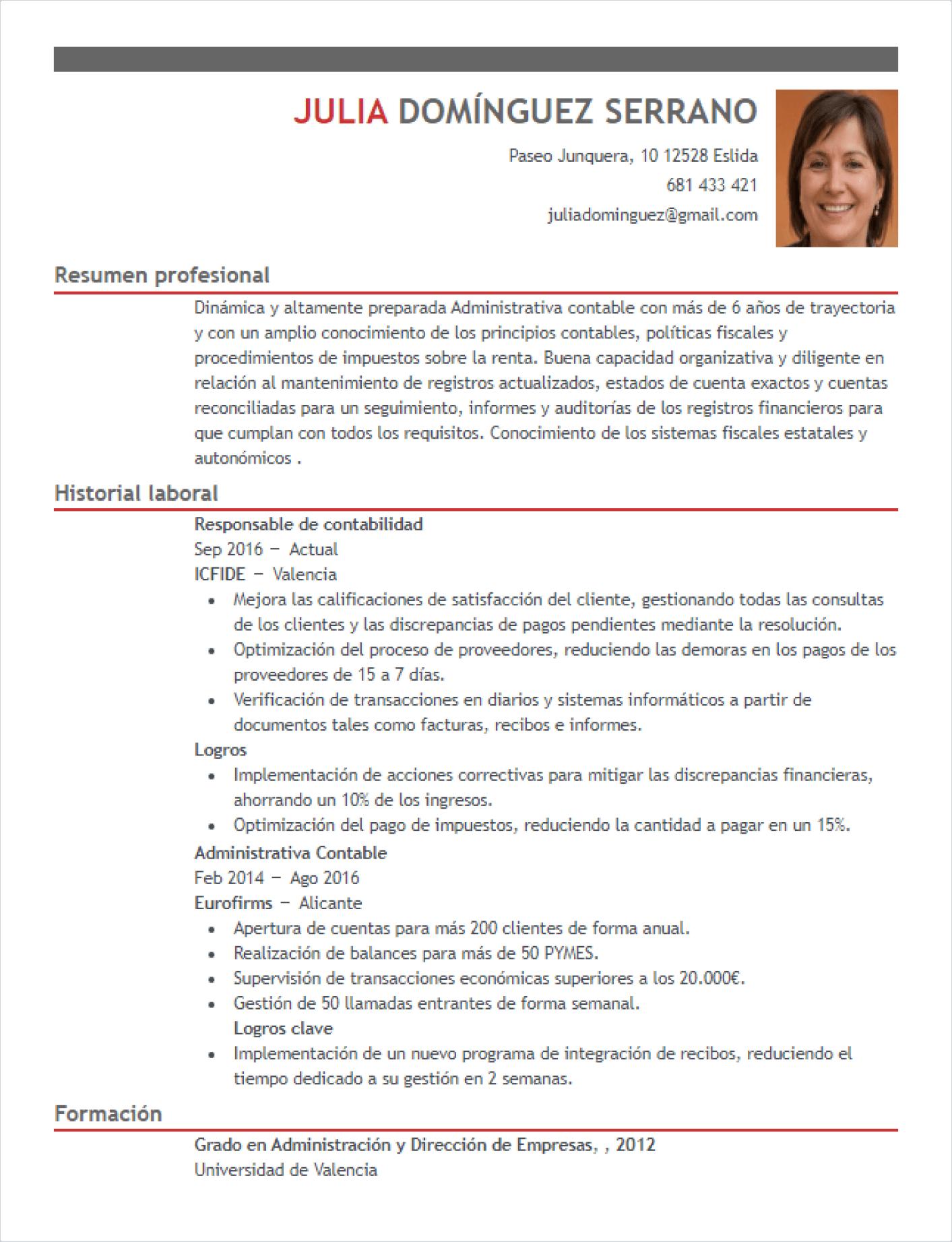 CV-Sample