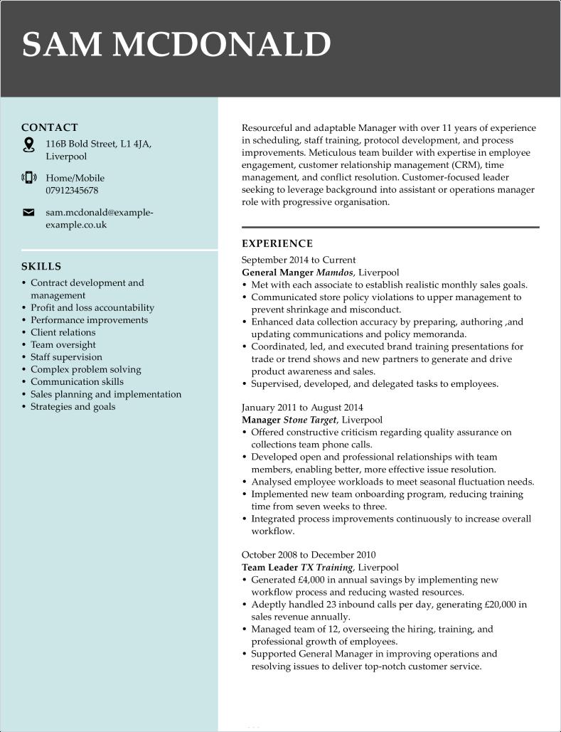 Creative CV template